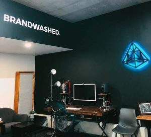 About - Brandwashed Office Photo
